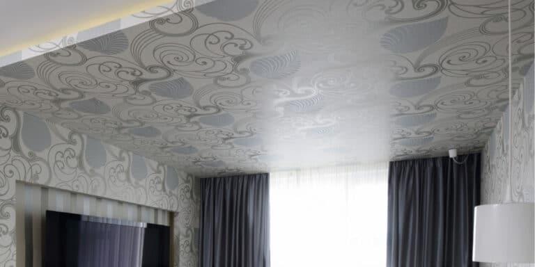 plafond tendu pvc imprime
