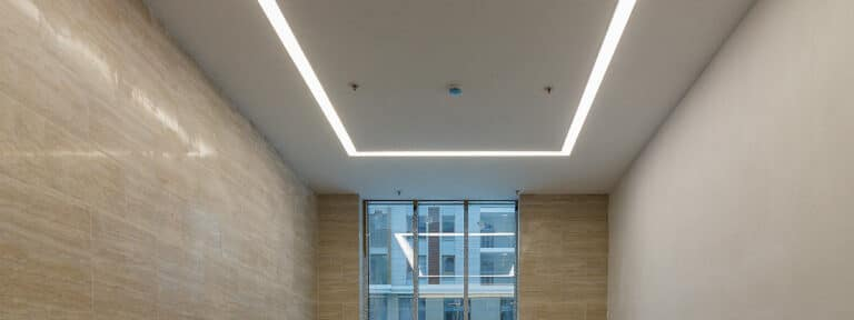plafond tendu translucide
